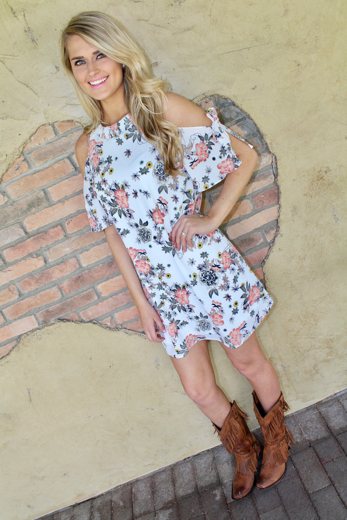 Sassy Days Dress - Ivory