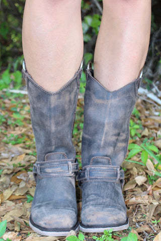 Vintage Cafe Harness Boot