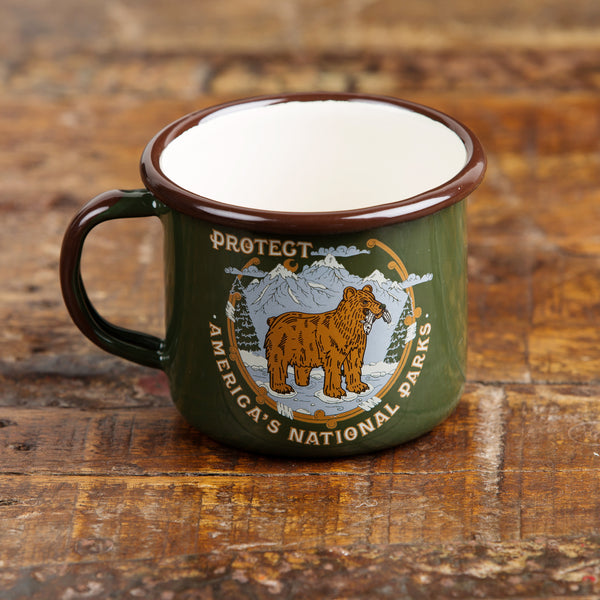 Protect National Parks Camp Mug