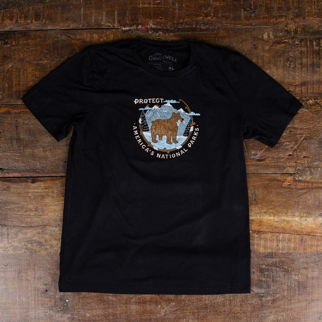 Protect National Parks T-Shirt - Black