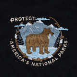 Protect National Parks Hoodie - Black
