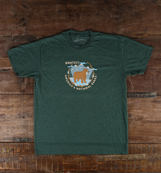 Protect Parks T-Shirt - Green