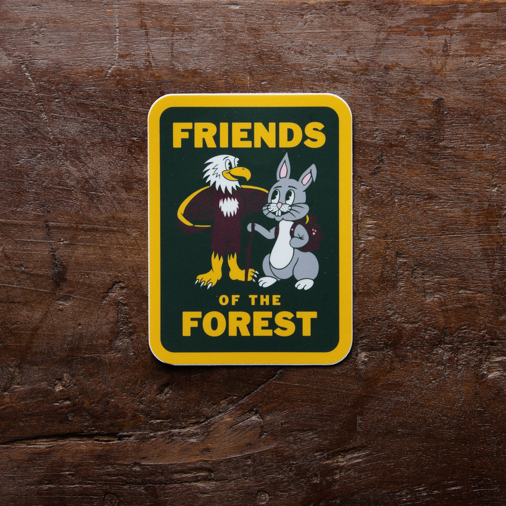 Friends of the Forest Vinyl Sticker