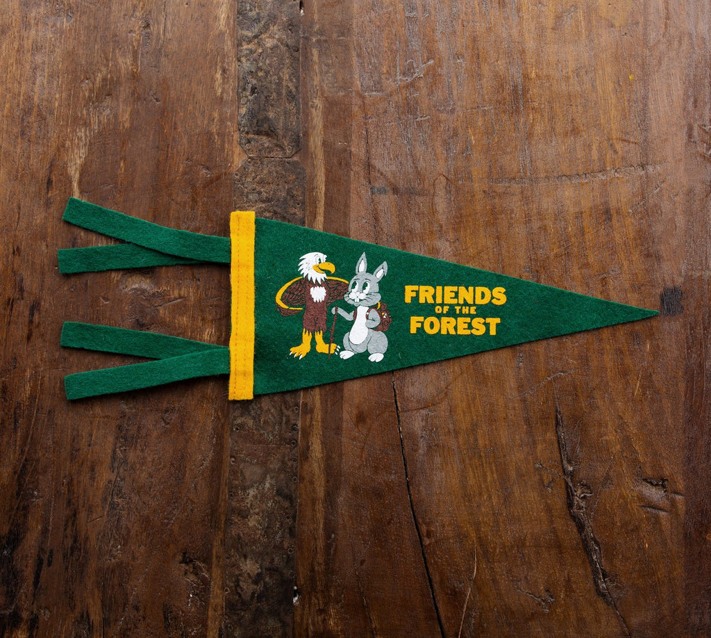 Friends of the Forest Mini Pennant