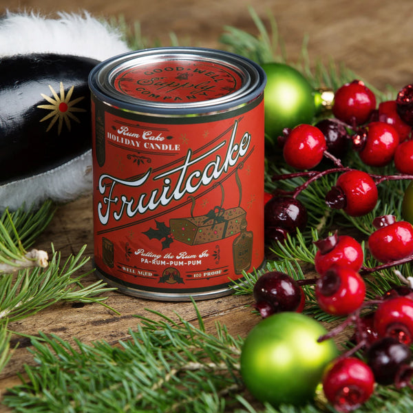 Rum Fruitcake Holiday Candle