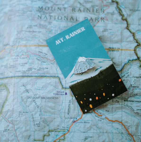 MT. RAINIER Enamel Pin