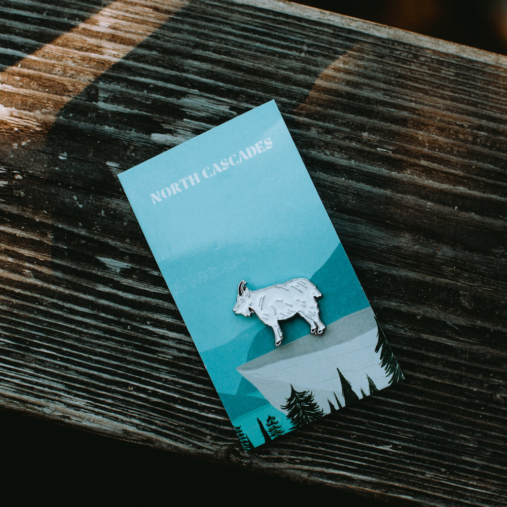 NORTH CASCADES Enamel Pin