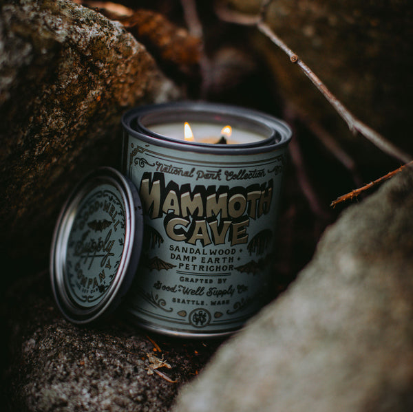 MAMMOTH CAVE - sandalwood, damp earth & petrichor