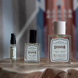 SEQUOIA - pine needle, cedarwood + smoky tobacco