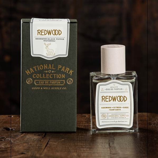 REDWOOD - oakmoss, citrus + sage