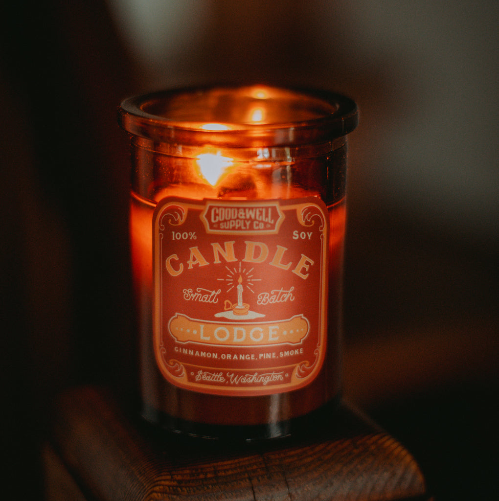 Lodge Apothecary Candle