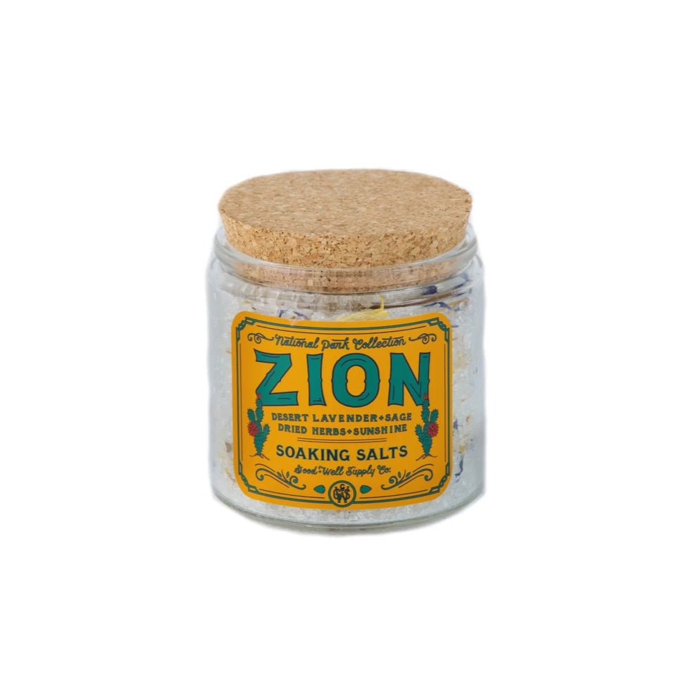 ZION Bath Salts - desert lavender, sage, dried herbs + sunshine