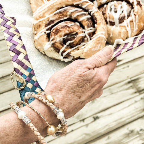 Teton Bracelets and baked goods