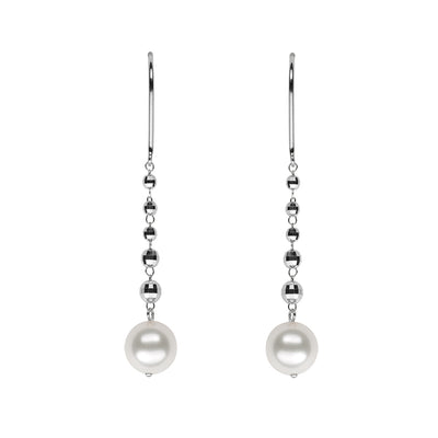 Petite Dangle Earring Earring Pearls by Shari