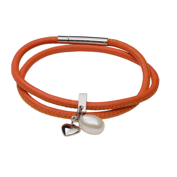 Teton Mountaineering Bracelet Nappa Leather-Orange
