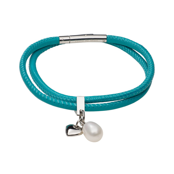 Teton Mountaineering Bracelet Nappa Leather-Turquoise