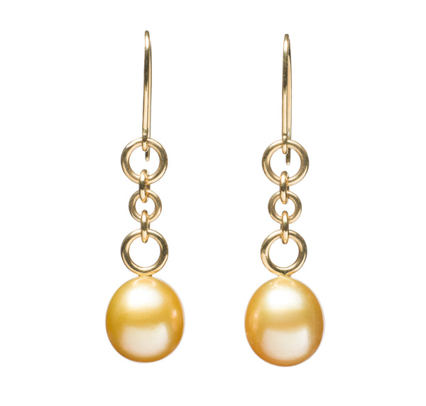 Golden South Sea Earrings