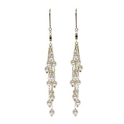 Petite Multi-Strand Dangle Earrings