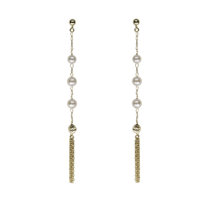 Petite Tassel Earrings