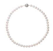 Classic Akoya Necklace Necklace Pearls by Shari
