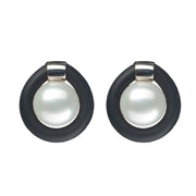 Teton Freshwater Pearl Rubber Earrings