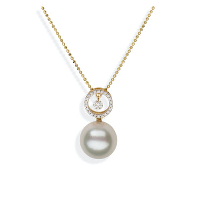 Eclipse Pendant Pendant Pearls by Shari