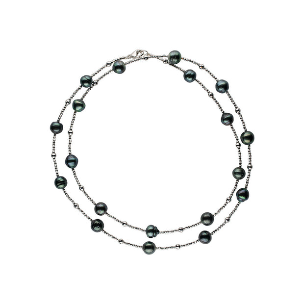 Mirror Bead Necklace