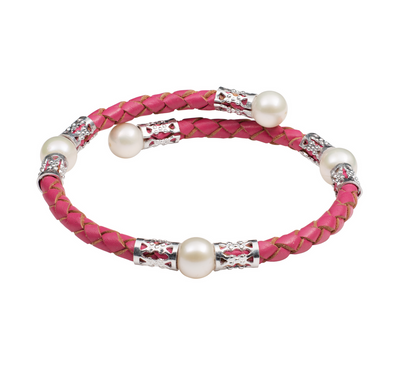 Pink Teton Mountaineering Bracelet- Casting for Recovery