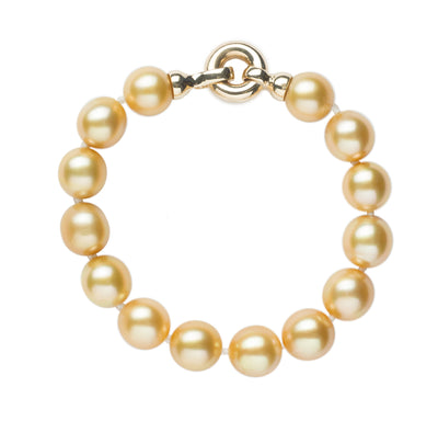 Golden South Sea Pearl Bracelet Bracelet Pearls by Shari