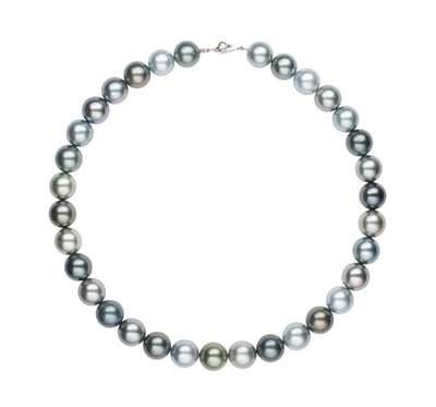 Tahitian Pearl Strand Necklace Pearls by Shari