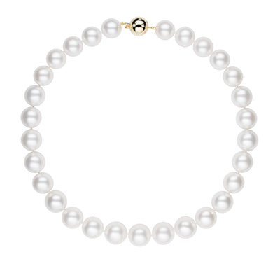 White South Sea Pearl Strand Necklace Pearls by Shari