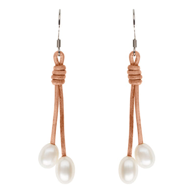 Teton Freshwater Pearl Drop Earrings Earring Pearls by Shari