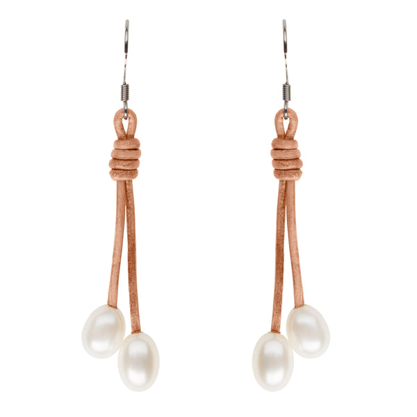 Teton Freshwater Pearl Drop Earrings