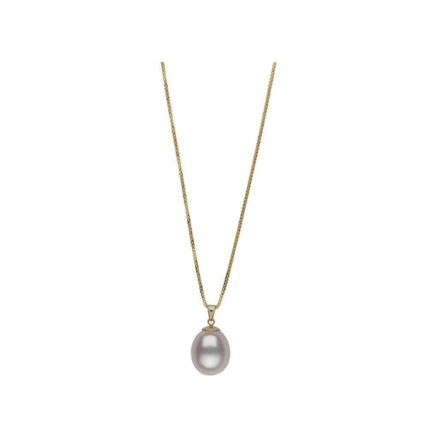 Teardrop Pearl Pendant Necklace Pearls by Shari