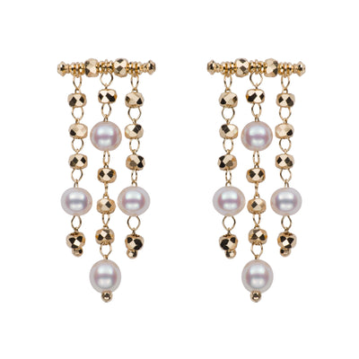 Petite Chandelier Earrings Earring Pearls by Shari