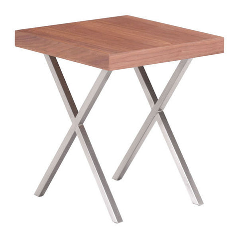 Menra Walnut Side Table - Set of 2