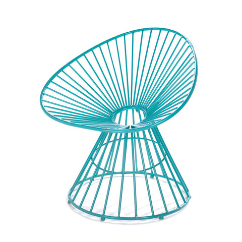 Teal Blue Patio Lounge Chair