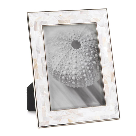"Mother of Pearl Mosaic Frame 5"" x 7"""