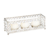 Crystal Rectangle Tealight Holder