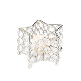 Crystal Star Tealight Holder
