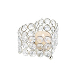 Crystal Heart Tealight Holder