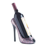 Glitter Shoe Wine Holder