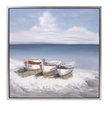 By the Sea Canvas with Frame