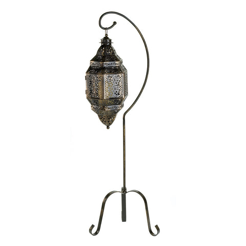 Moroccan Candle Lantern with Stand