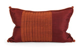 Thai Silk Pillow by Iffat Khan