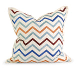 Zola Embroidered Pillow by Iffat Khan