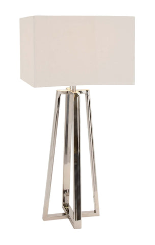 Contemporary Stainless Steel Table Lamp
