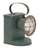 Antique Rustic Green Spot Lantern
