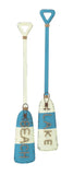 Nautical Metal Oars Wall Decor (Set of 2)