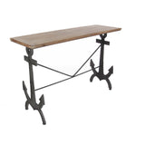 Contemporary Rustic Anchor Console Table